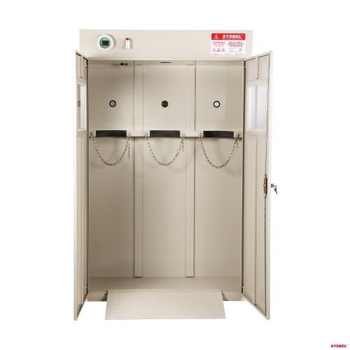 Tủ đựng bình khí Gas 03 bình, có quạt gió