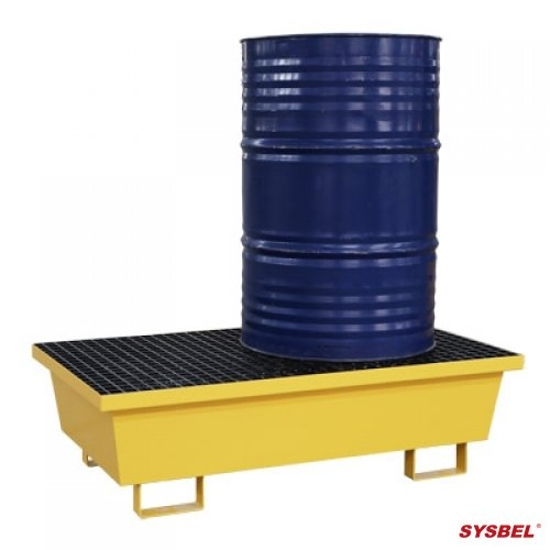 SPM202 Pallet thép chống tràn dầu 2 drum