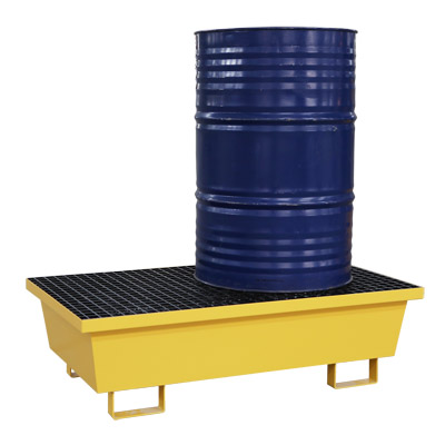 Pallet thép chứa phuy chống tràn dầu